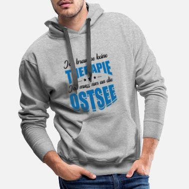 Mer Baltique mer Baltique - Sweat à capuche premium Homme