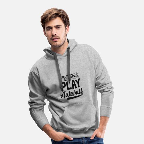 Gift Idea Hoodies & Sweatshirts - Ball sports Autoball Sport - Men's Premium Hoodie heather grey