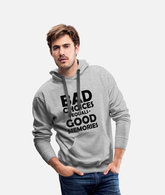 Alcohol Hoodies & Sweatshirts - Friends Party Celebrate Beer Youth Gift - Men's Premium Hoodie heather grey