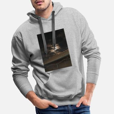 Kosovo at night - Men's Premium Hoodie