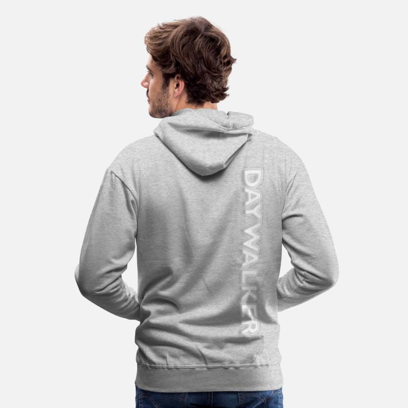 Energy Hoodies & Sweatshirts - DAYWALKER - Men's Premium Hoodie heather grey