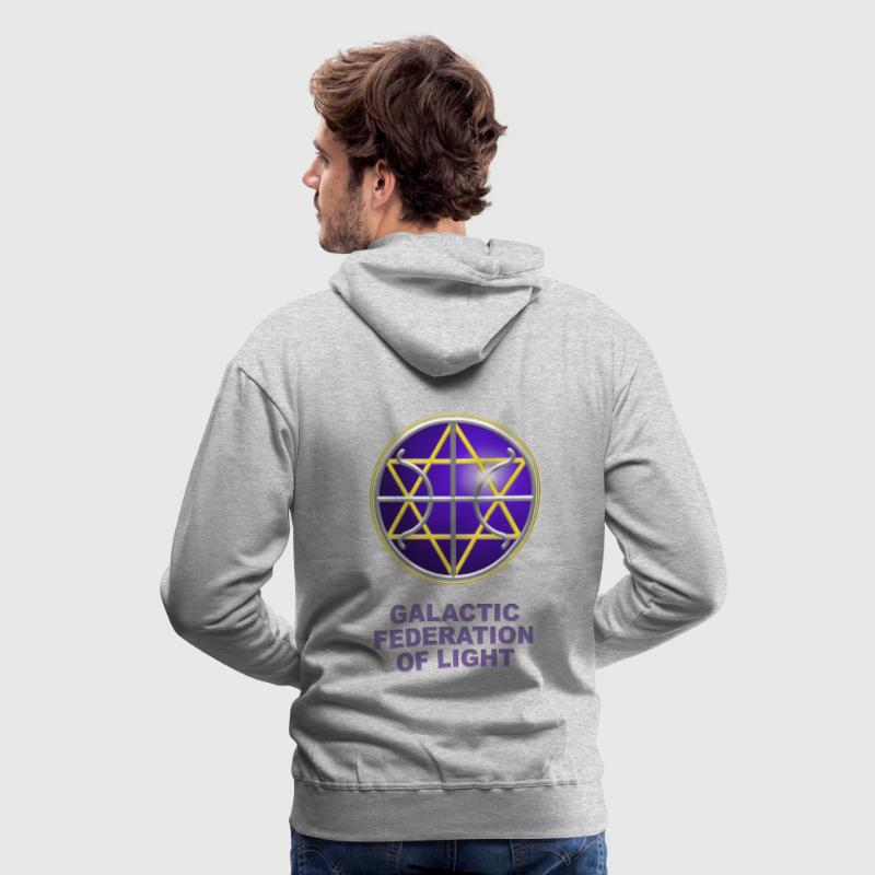 Ummac Dan - Galactic Federation Symbol For The Sirian Star System, digital - Men's Premium Hoodie