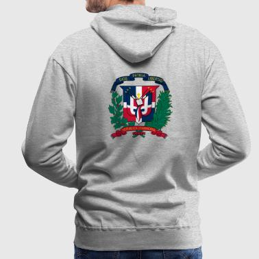 National coat of arms of the Dominican Republic - Men's Premium Hoodie