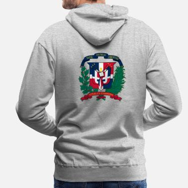 Dominican Republic National coat of arms of the Dominican Republic - Men's Premium Hoodie