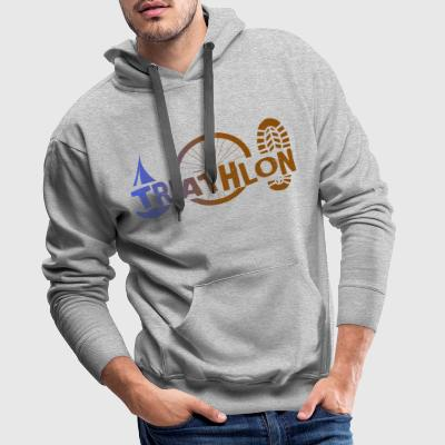 Triathlon Icons - Men's Premium Hoodie