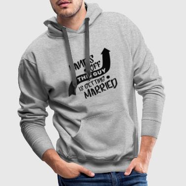 Wedding - future groom - Men's Premium Hoodie