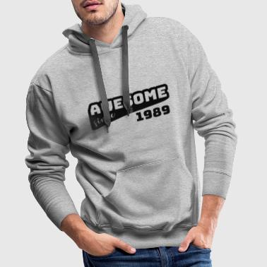 Awesome since 1989 / Birthday-Shirt - Men's Premium Hoodie