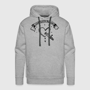 Heart Tattoo Bad Taste Baby Bodysuits - Men's Premium Hoodie