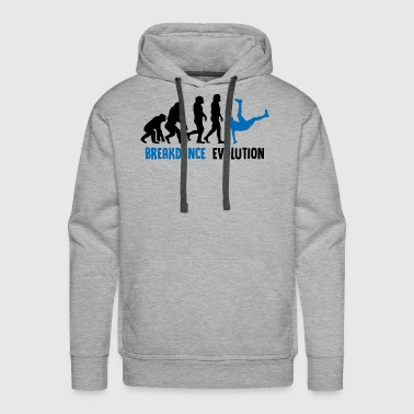 ++ ++ Breakdance Evolution - Men's Premium Hoodie