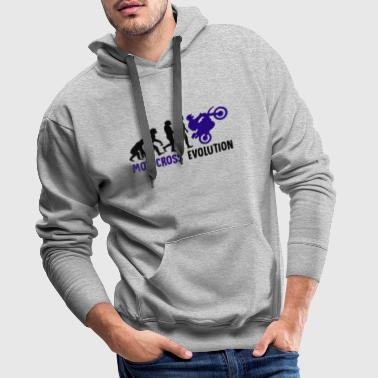 ++ ++ Motocross Evolution - Men's Premium Hoodie