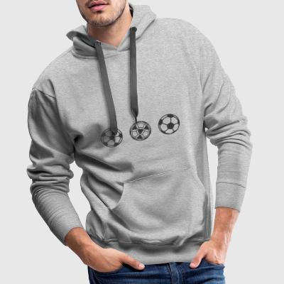 football - Sweat-shirt à capuche Premium pour hommes
