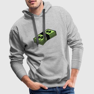 Money dollars Color - Männer Premium Hoodie