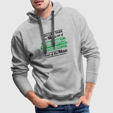 Gift from dear origin man SAUDI ARABIA - Men's Premium Hoodie