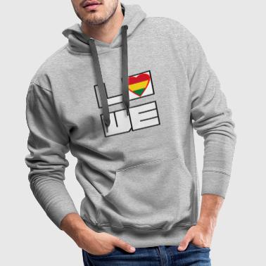 Loveland Roots Bolivie - Sweat-shirt à capuche Premium pour hommes