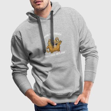 Funny Stupid Birthday Mother-in-Law - Men's Premium Hoodie