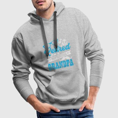 Shirt for pensioners as a gift - professional grandpa - Men's Premium Hoodie