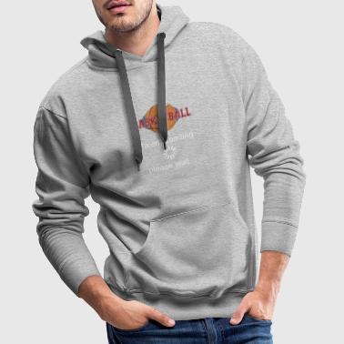 Basketball talent is loading gift - Men's Premium Hoodie
