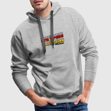 WORKING WITH STRIPPERS - ELECTRICIAN - Männer Premium Hoodie