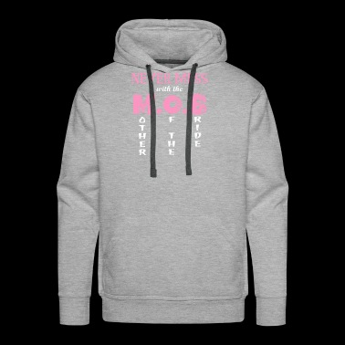 Do not mess with the bride's mother - Men's Premium Hoodie