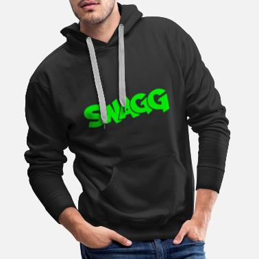 Swagg Swagg graff - Men's Premium Hoodie
