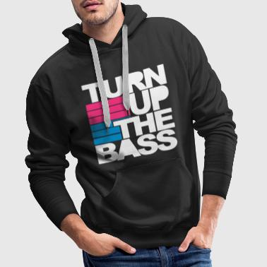 Turn Up The Bass - Männer Premium Hoodie