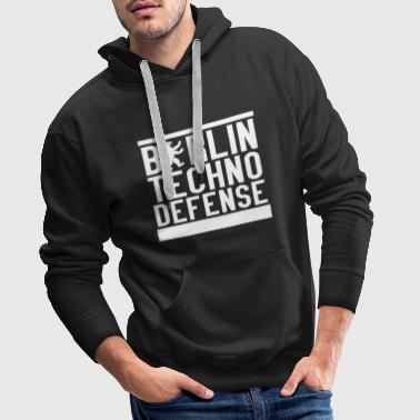 Berlin Techno Defense - Männer Premium Hoodie