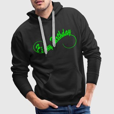 It´s my Birthday  1c - Mannen Premium hoodie