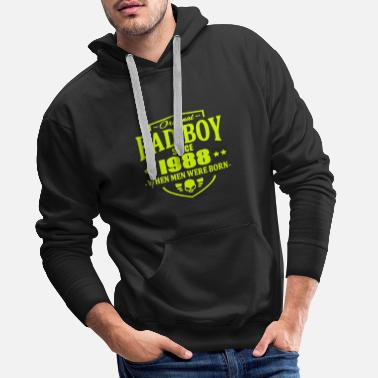 1988 Bad Boy Since 1988 - Bluza męska Premium z kapturem