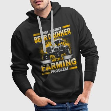 Farming Beer Drinker - Farming Problem - EN - Men's Premium Hoodie