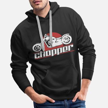 Motor Race Motorcycle choppers - Men's Premium Hoodie