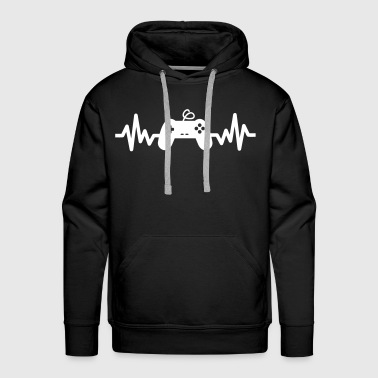 gaming is life -  gaming - Men's Premium Hoodie