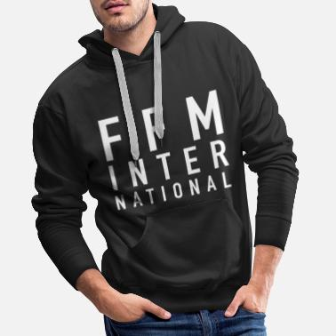Eintracht FFM INTERNATIONAL White - Männer Premium Hoodie