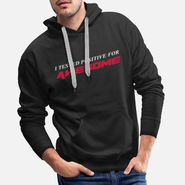 Awesome Awesome - Sweat-shirt à capuche Premium pour hommes