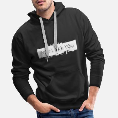 Metalheads Not Like You Heavy Metal Gothic Rock Rocker - Men's Premium Hoodie