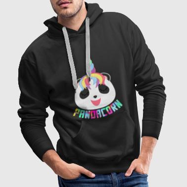 Pandacorn Panda Unicorn Animal Shirt Gift - Men's Premium Hoodie