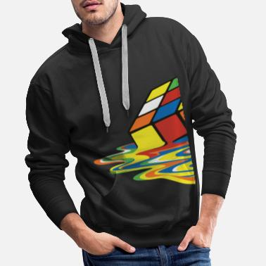 Officialbrands meltingcube - Men's Premium Hoodie
