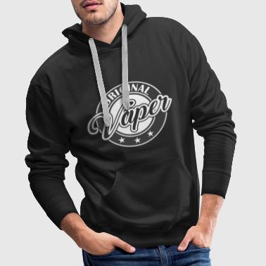 Vaping Vape Design Original vape - Men's Premium Hoodie