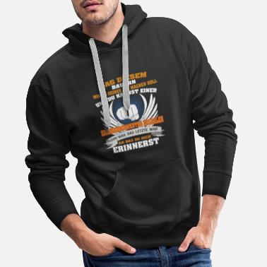 Tug SAY THIS BUILDER HOW TO MAKE HIS JOB ... - Men's Premium Hoodie