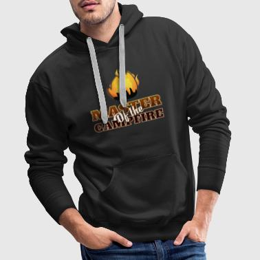 Just Master Of The Campfire - Men's Premium Hoodie