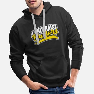 Christmas I Only Raise Ballers - Men's Premium Hoodie