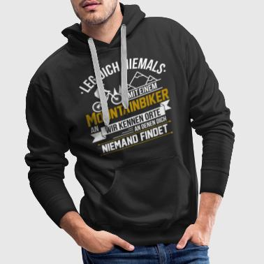 Mtb Mountainbike MTB Mountainbiker Mountainbikerin Ort - Männer Premium Hoodie