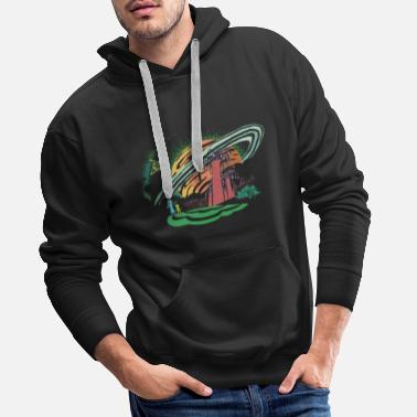 Morty Rick and Morty Dimension 35-C - Mannen premium hoodie