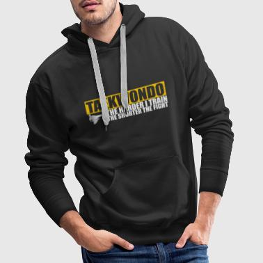 Taekwondo The Harder I Train - Mannen Premium hoodie