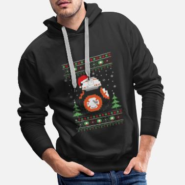 R2d2 r2d2 Ugly Christmas Christmas - Mannen Premium hoodie