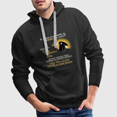 Leo Leo Zodiac | Center of our universe - Men's Premium Hoodie