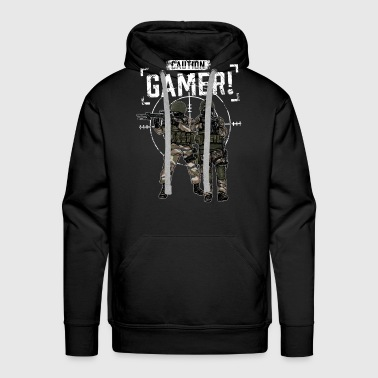 Nerd Gamer Designs Troops - Männer Premium Hoodie