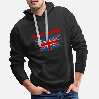 Kingdom United Kingdom Flag 008 AllroundDesigns - Men's Premium Hoodie