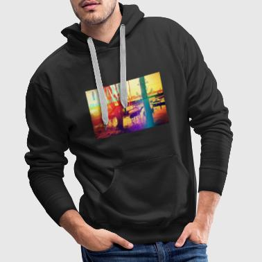 hamburg alster take me anywhere - Männer Premium Hoodie