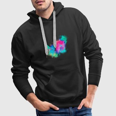 Cherub Wings angels colorful - Men's Premium Hoodie