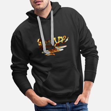 Firefighter Love Firefighters - Premium Design - Men's Premium Hoodie